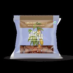 Cacao Roasted Cashews 35 gms