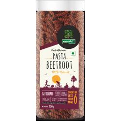 Beetroot Pasta 200 gms (Gluten-Free,Vegan)