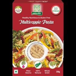 Multi Veggie Pasta 250 gms (Gluten-Free,Vegan)