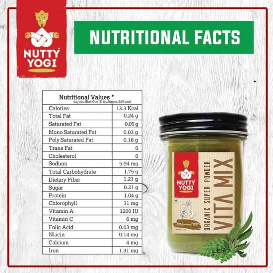 Organic Super Powder Vita Mix 70 gms
