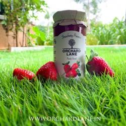 80% Fruit Strawberry Jam (Low Sugar, Flavourful wi