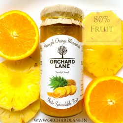 Pineapple and Orange Marmalade With 80% Fruit (Fru