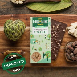 41% Fine Milk Chocolate With Sitaphal 68 gms