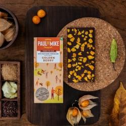 64% Mild Dark Golden Berry Chocolate (Vegan) 68 gm