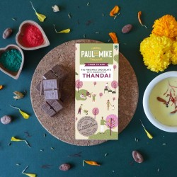 41% FINE MILK CHOCOLATE WITH INDIAN STYLE THANDAI