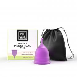 Pee Safe Reusable Menstrual Cup with Medical Grade
