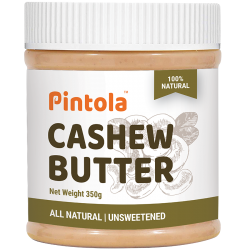 All Natural Cashew Butter (350gm)  (Unsweetened)