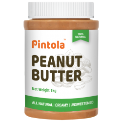 All Natural Peanut Butter (1kg) (Creamy) (Unsweete