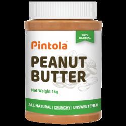All Natural Peanut Butter (1kg) (Crunchy) (Unsweet