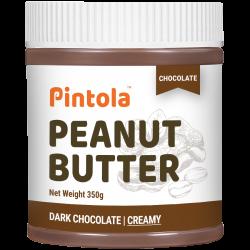 Dark Chocolate Peanut Butter 350 gms (Creamy)