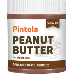 Dark Chocolate Peanut Butter 350 gms (Crunchy)