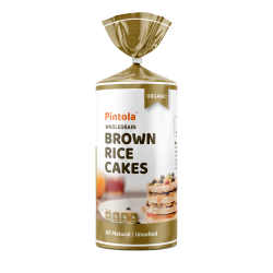 Wholegrain Brown Rice Cakes Unsalted 125 gms