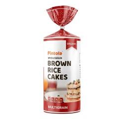 Wholegrain Brown Rice Cakes Multigrain 125 gms