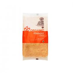 Organic Red Lentils (Masoor Dal) 500 gms