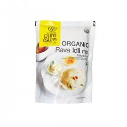 Organic Rava Idli Mix 250 gms
