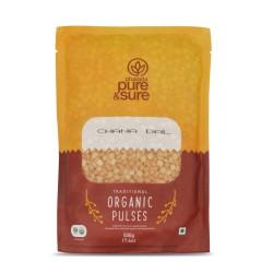 Organic Bengal Gram Split (Chana Dal) 500 gms