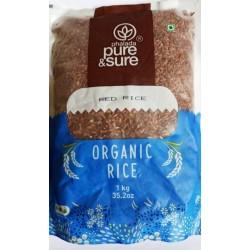 Organic Red Rice 1 kg