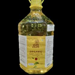 Organic Sun Flower Oil 5 litres