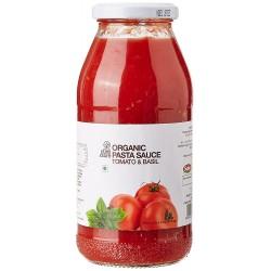 Organic Tomato and Basil Pasta Sauce 500 gms