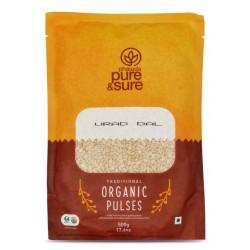 Organic Urad Dal Split 500 gms