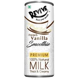 French Vanilla Smoothie Premium Natural Milk Thick