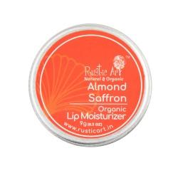 Organic Almond Saffron Lip Moisturizer 9 gms (Vega