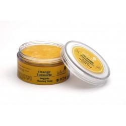 Organic Orange Turmeric Shaving Soap 50 gms (Vegan