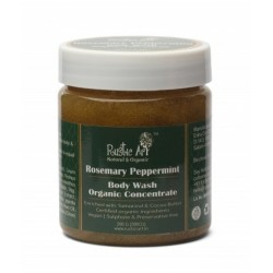 Organic Rosemary Peppermint Body Wash Concentrate