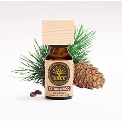 Cedarwood Essential Oil for Stress Relief and Ches