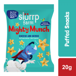 Mighty Puff Cheese and Herbs 20 gms