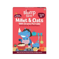Organic Millet and Oats Porridge 250 gms