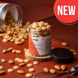 Almond Cookies 70 gms (Vegan)