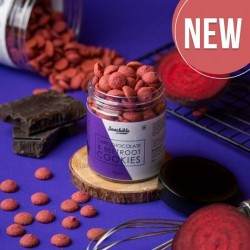 Dark Chocolate and Beetroot Cookies 70 gms (Vegan)