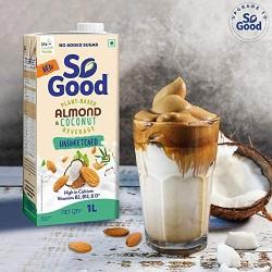 Almond Coconut Unsweetened Milk (Gluten Free,Vegan