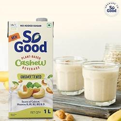 Plant Based Cashew Unsweetened Milk (Gluten Free)