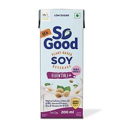 Plant Based Soy Essentials Milk (Gluten Free) 1L