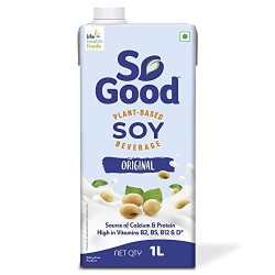 Plant Based Soy Original Milk (Gluten Free) 1L