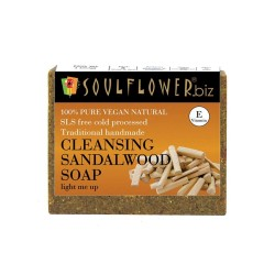 Handmade Cleansing Sandalwood Soap 150 gms (Vegan)