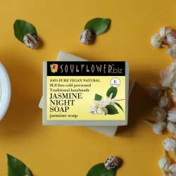 Handmade Jasmine Night Soap 150 gms (Vegan)