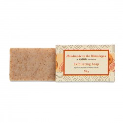Handmade Exfoliating Soap Apricot Scrub and Wheat