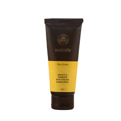 Face Scrub Walnut and Turmeric with Cooling Sandal