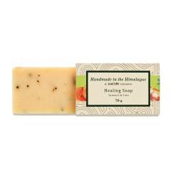Handmade Healing Soap Turmeric and Tulsi 70 gms