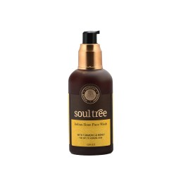 Indian Rose Face Wash with Turmeric and Honey for