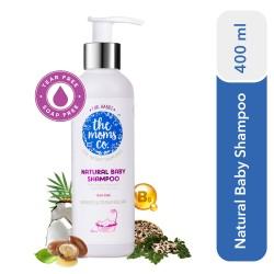 Natural Baby Shampoo 400 ml (Tear Free, Soap Free)