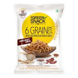 6 Grain Stix Smokey BBQ 25 gms (Gluten-Free, Roast