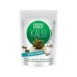Kale Crisps Sea Salt and Vinegar 30 gms (Gluten-Fr