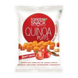 Quinoa Puffs Saucy Salsa 50 gms (Gluten-Free, Roas