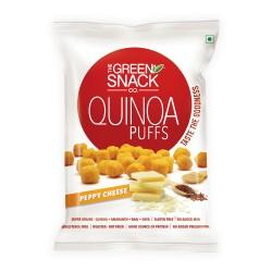 Quinoa Puffs Peppy Cheese 50 gms (Gluten-Free, Roa