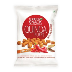 Quinoa Puffs Fiery Spice 50 gms (Gluten-Free, Roas