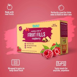 Fruit Fills Raspberry Made with 100% Fruit| Anytim